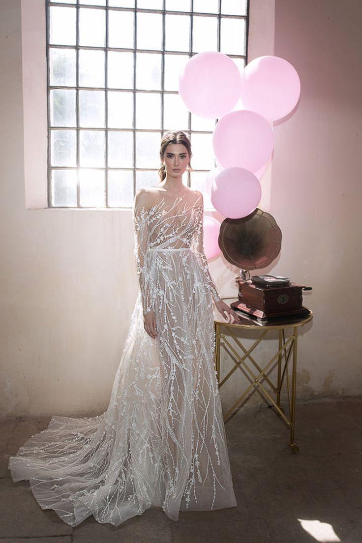 Rent designer wedding dress  Trendy Wedding Dresses   Stunning Long Sleeve Wedding Dresses
