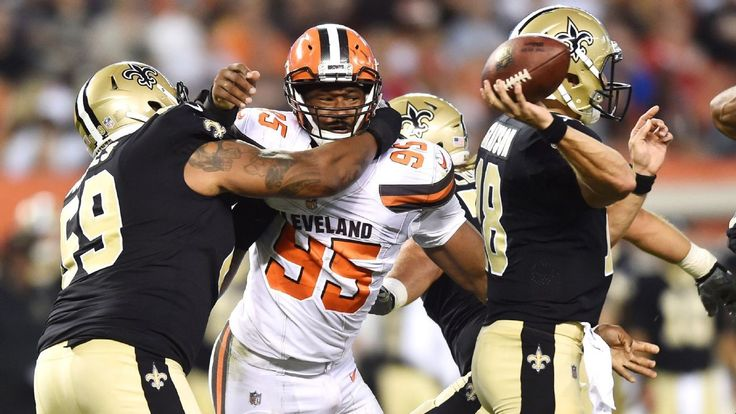 Myles Garrett has effective debut with tackle for loss, QB pressure #FansnStars