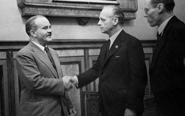 On August 23, 1939 Nazi Germany and the Soviet Union signed the German-Soviet Nonaggression Pact, in which the 2 countries agreed not to attack each other for the next 10 years. Stalin saw the pact as a way to keep his nation on peaceful terms with Germany, while he built up the Soviet military. Hitler used the pact to make sure Germany was able to invade Poland unopposed. The pact contained a secret agreement in which the Soviets and Germans agreed how to divide up Eastern Europe.
