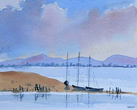 St Francis Bay: Talbot Cox, South African Artist