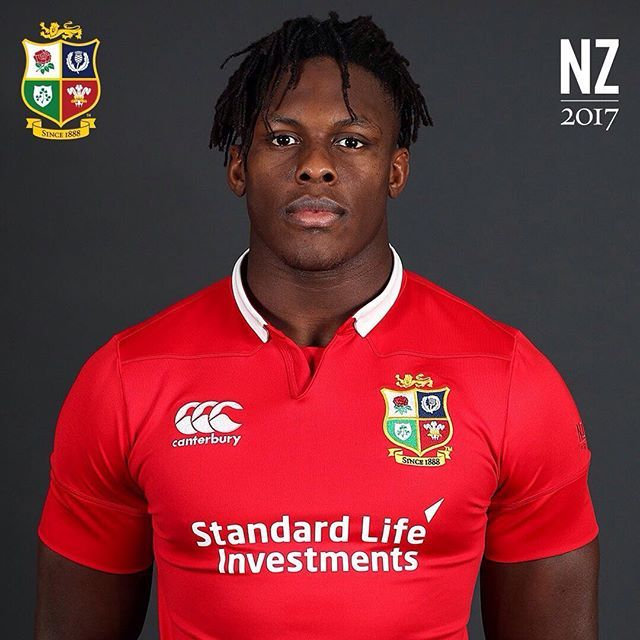 2016 World Rugby Breakthrough Player of the Year and European Player of the Year, congratulations to England lock Maro Itoje on selection for a first Lions Tour #AllForOne #LionsNZ2017 #Lions #LionsRugby #Rugby #Rugbygram