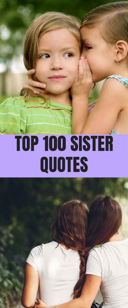 Sisters are your soulmate best friends from God from easrly days to your whole l… – Quotes