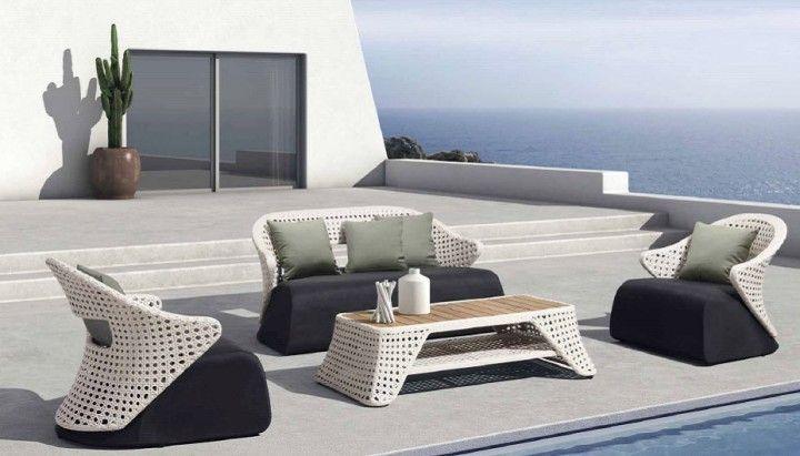 Meble Ogrodowe Zestaw Modena Lounge Set : Zestaw wypoczynkowy Childe Viara  Gardenellopl  najlepsze meble