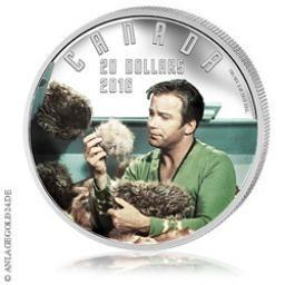 Silbermünze zu STAR TREK