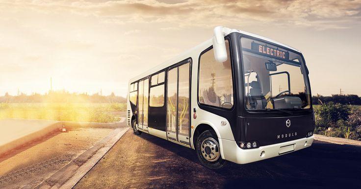 Modulo electric citybus desig by Maform #design #vehicledesign