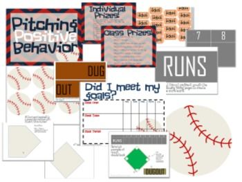 Pitching Positive Behavior- Behavior Management Plan