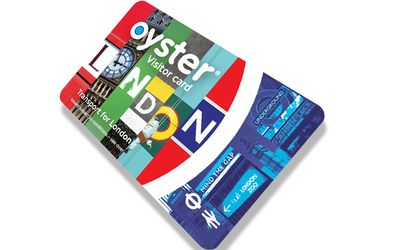 Visitor Oyster card cut-out image