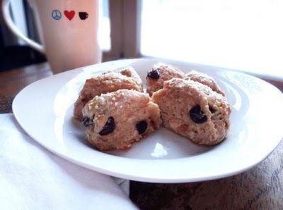 ... Kitchen: Skinny Mini Buttermilk Scones with Dark Chocolate Chips