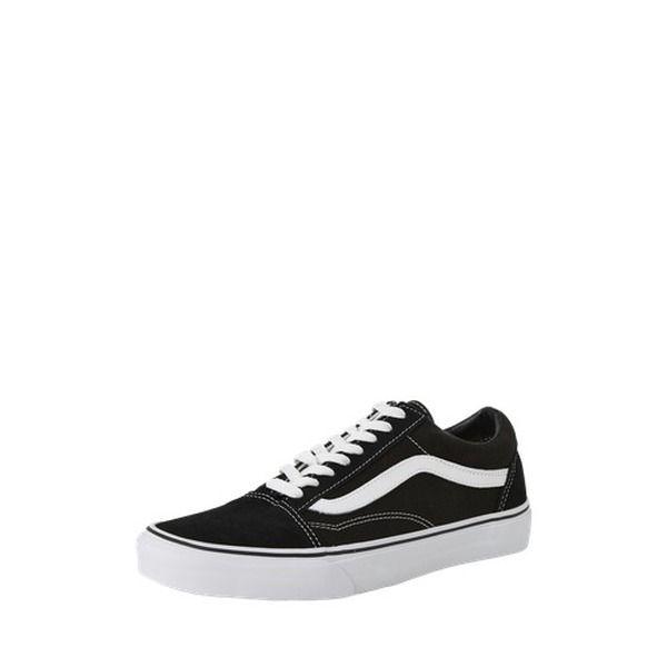 VANS Sneaker Low 'OLD SKOOL' schwarz / weiß