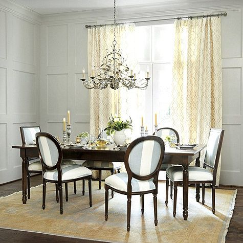 Claire 8 light oval chandelier dining room pinterest for Ballard designs dining room