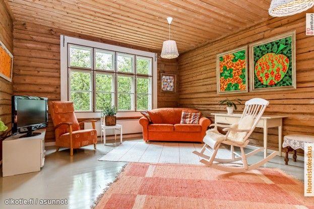 Myytävät asunnot, Lamperilantie 2571, Kuopio #oikotieasunnot #olohuone #livingroom