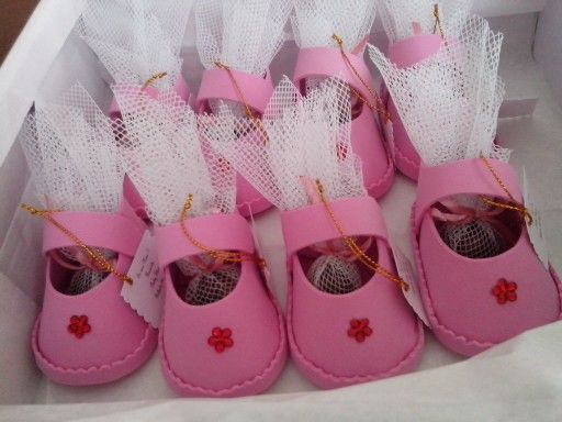 Zapatito Niñita Baby Shower