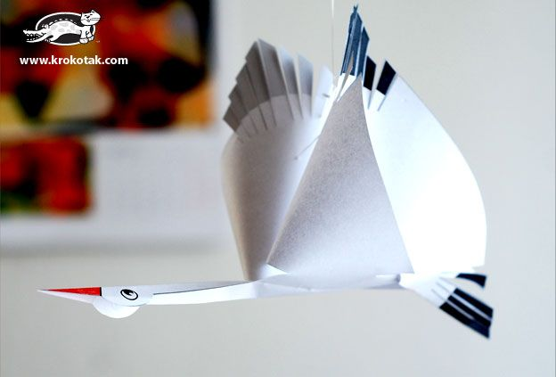 ЩЪРКЕЛ от хартия+шаблон | крокотак