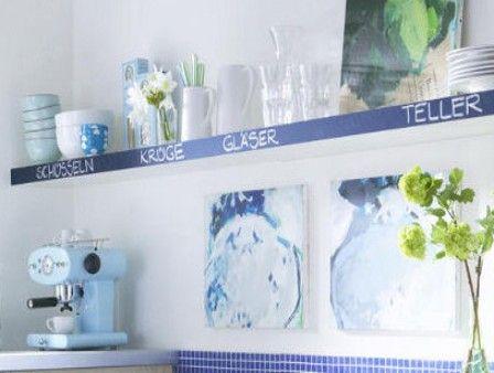 37 best DIY \ Wohnideen mit Tafellack images on Pinterest Chalk - wie kann ich meine küche streichen