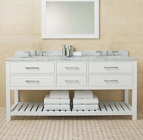141 best restoration hardware my other favorite store Double sink washstand