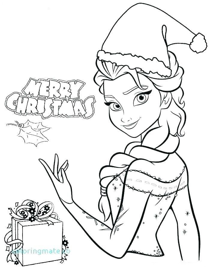 Merry Christmas Coloring Pages Merry Christmas With Elsa Coloring Page Free Printable In 2020 Frozen Coloring Pages Elsa Coloring Pages Princess Coloring Pages