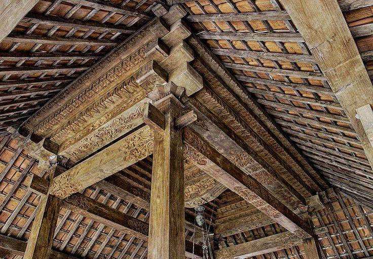 Antique & Beautifull Joglo Plafond