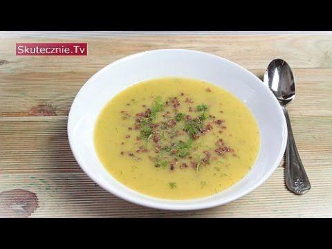 Zupa krem z cukinii z opiekaną kaszą i koperkiem :: Skutecznie.Tv [HD] - YouTube