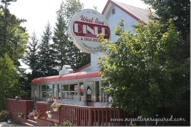 A Vintage Diner Experience – The West Bay Diner in Grand Marais, MI