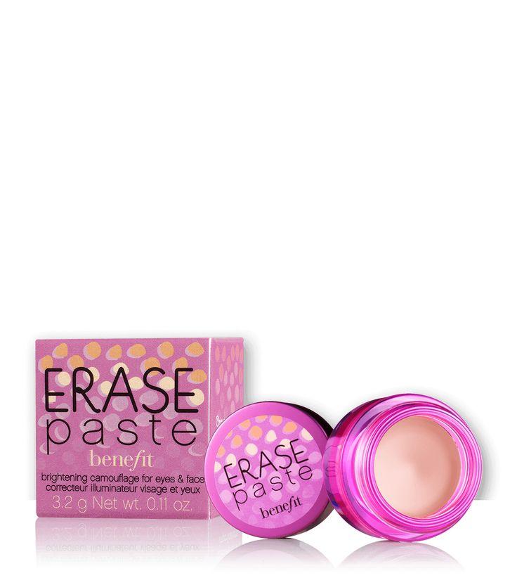 Under eye concealer: erase paste brightening concealer | Benefit Cosmetics