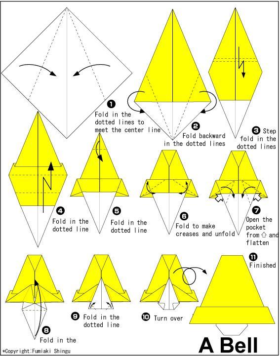 banana napkin folding instructions