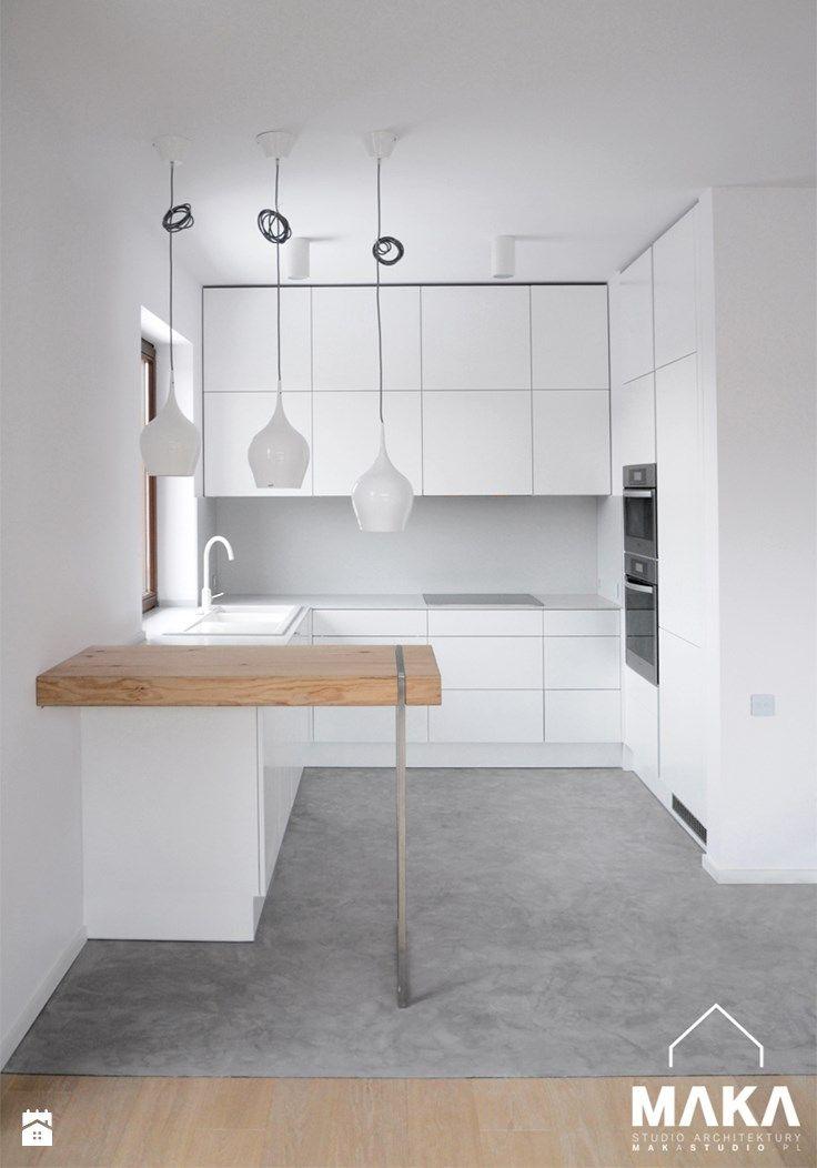 Kuchnia - Styl Minimalistyczny - MΛKΛ Studio