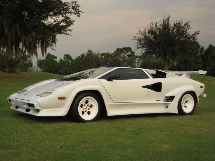Awesome Lamborghini Countach   I Always Liked This Body Style.