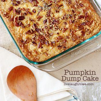 pumpkin dump cakes pumpkin dessert pumpkin pumpkin dump cake recipes ...