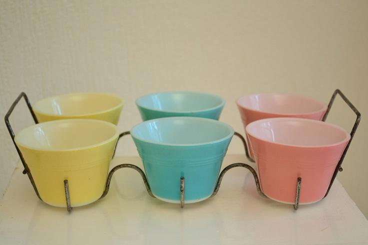 Super cute! - JAJ Pyrex Custard Cups