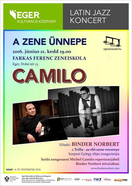 Plakát104: A zene ünnepén: Camilo