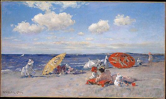 William Merritt Chase (American, 1849–1916). At the Seaside, ca. 1892. The Metropolitan Museum of Art, New York. Bequest of Miss Adelaide Milton de Groot (1876–1967), 1967 (67.187.123)