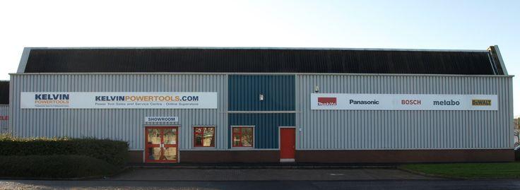 Kelvin Power Tools store in Hillington, Glasgow. Open Mon - Fri from 8am - 5pm (Thurs 8am - 7pm)