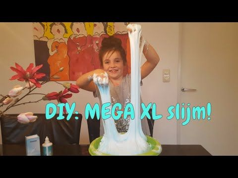 DIY - Zelf Fluffy slijm maken - Beste recept EVER! Slime (Nederlands) - YouTube