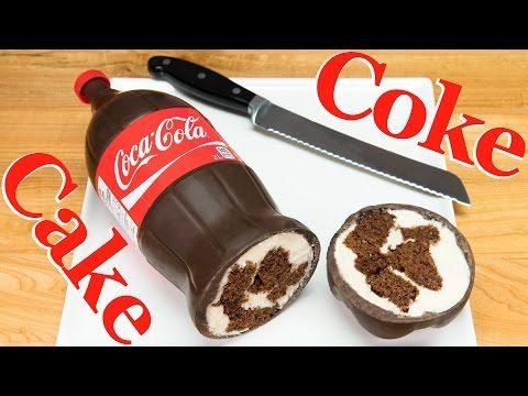 (4) Coca Cola Bottle Cake (Coke Bottle Cake)  from Cookies, Cupcakes and Cardio - YouTube