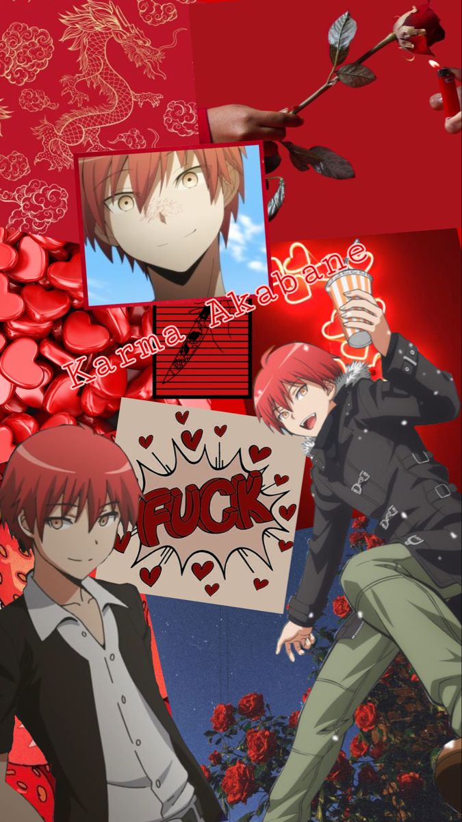 Karma Akabane Karma Akabane Anime Classroom Cool Anime Wallpapers