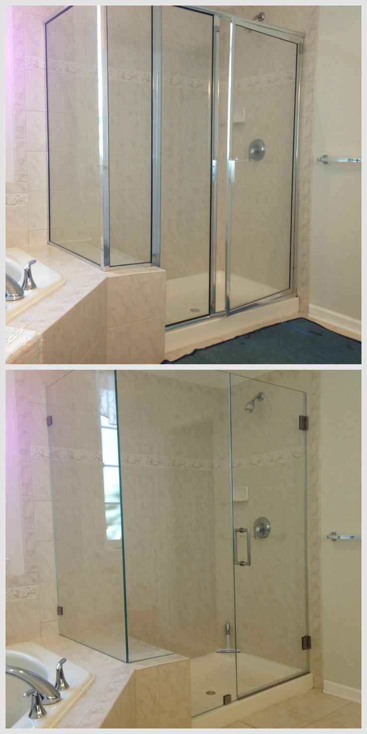 75 Best Frameless Shower Doors Images On Pinterest Custom Shower