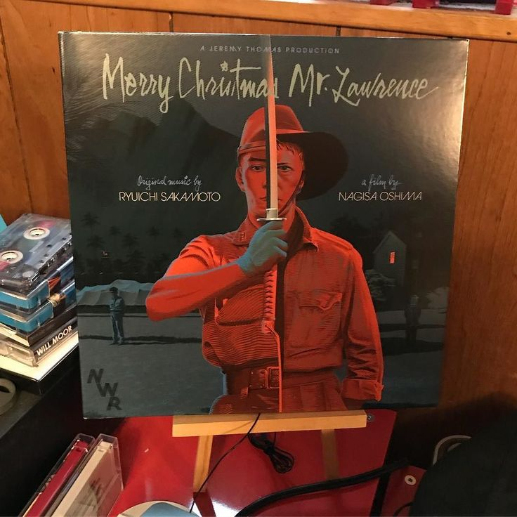 @jill_krajewski @coolckcu My bro somehow found this on vinyl. I guess I will listen to Merry Christmas Mr. Lawrence over and over.  Now I should find a way to watch the film. . . . . #music #vinyl #ryuichisakamoto #davidbowie