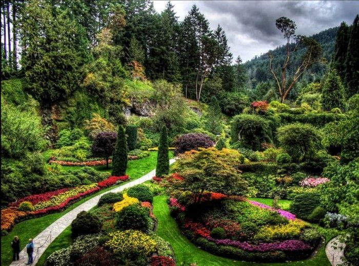 Красивые сады мира. Фото и видео
