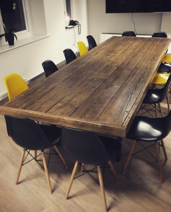 Jules Reclaimed Wood Meeting Boardroom Table