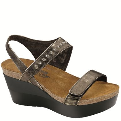 Naot Women's Prodigy, Size: 41 M, Metal Leather