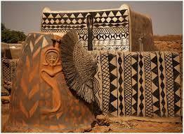 Image result for kassena west africa art