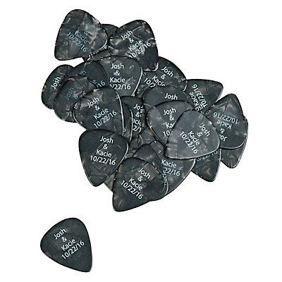 These guitar picks are great party favors for a rock 'n roll celebration! Give them out at a rock star birthday party, or use them as giveaways during a ...