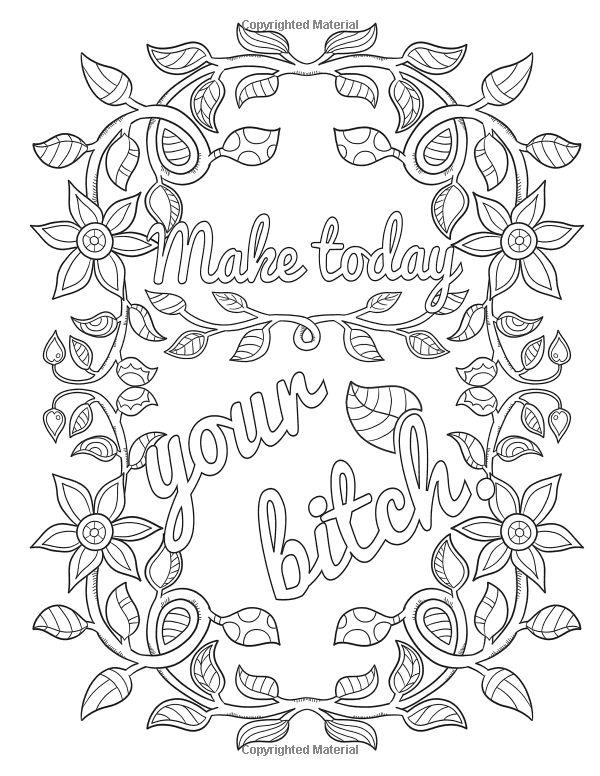 Amazon Big Beautiful Bitch An Uplifting Swear Word Coloring Book