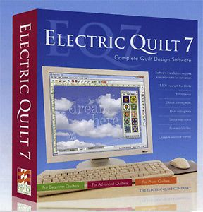 NEW Electric Quilt 7 - EQ7 - Complete Quilt Design Software - Only 1 left