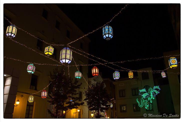 Natale a Salerno, le Luci d'Artista
