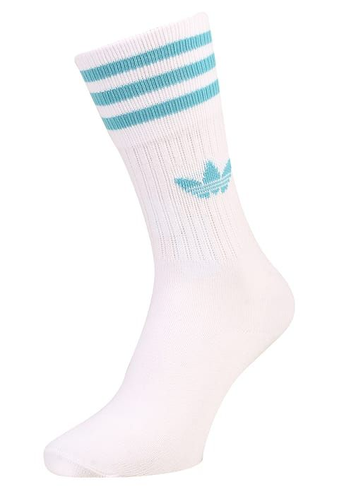 adidas Originals SOLID CREW 2 PACK - Socken - trace pink white vapor blue 1c4b28bb5d