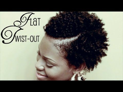 Dry Flat Twist-Out on Short Natural Hair using Miss Jessie's Curly Pudding | GodCallsMeBeloved