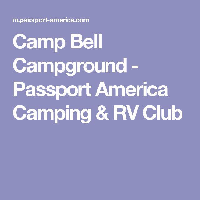 Camp Bell Campground - Passport America Camping & RV Club