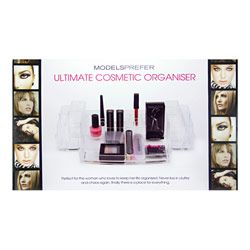 Models Prefer Ultimate Cosmetic Organiser $29.99. I can't believe I've never put this in my top ten before - this is something I can't live without! I use it every day to organise my makeup and brushes and it's especially handy while doing video tutorials to keep things in order. Simply place brushes and tools along the sides and foundations and lips along the back and you'll be able to do your make-up much faster.
