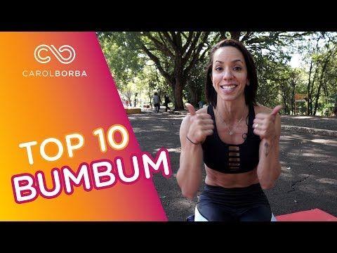 10 melhores exercícios para AUMENTAR O BUMBUM - Carol Borba - YouTube
